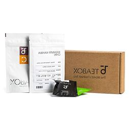 Teabox 4 in 1 Variety Tea Collection Box | Includes 1 Jasmin