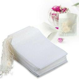 100-400 Pack Magik Disposable Filter Empty Teabags Herb Loos