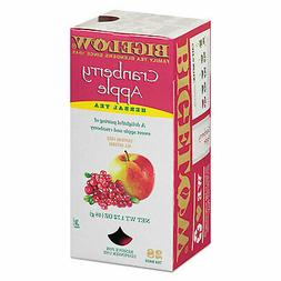Bigelow 10400 Bigelow Cranberry Apple Herbal Tea, 28/Box