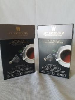 2 boxes of Wissotzky Tea-Imperial Earl Grey  16 Tea Bags EAC
