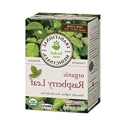 2 Packs of Traditional Medicinals Organic Raspberry Leaf Her