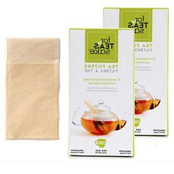 200 Unbleached Tea Filter Bags Disposable Biodegradable for