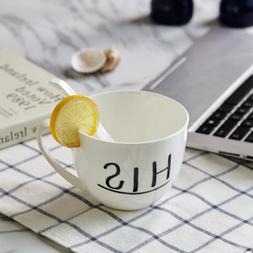 330ml Creative Ceramic Mug with <font><b>Tea</b></font> <fon