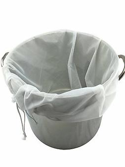 Extra Large  Reusable Drawstring Straining Brew in a Bag