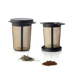 Finum Reusable Stainless Steel Coffee and Tea Infusing Mesh