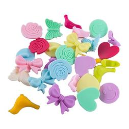 Mirenlife Silicone Drink Markers, Tea Bag Holders, 7 Cute Sh