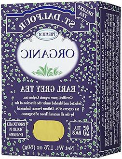 St. Dalfour, Organic, Earl Grey Tea, 10 Pack  )