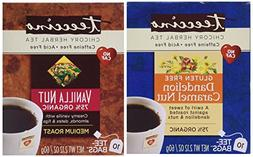 Teeccino Caffeine Free Organic Herbal Coffee And Tea 2 Flavo