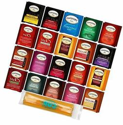 Twinings Tea Bags & By The Cup Honey Sticks Variety 40 Ct in