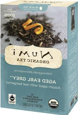 Numi Organic Tea Aged Earl Grey, Full Leaf Black Tea in non-
