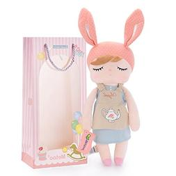 Me Too Angela Stuffed Bunny Plush Rabbit Baby Dolls Easter G