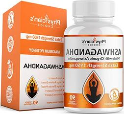 Ashwagandha 1950mg Organic Ashwagandha Root Powder Extract o