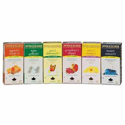 Bigelow | Assorted Herbal Tea Packs | 6 flavors |  28 bags p