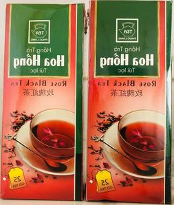 Authentic Vietnamese Rose Tea Phuc Long from Vietnam 2 Box .