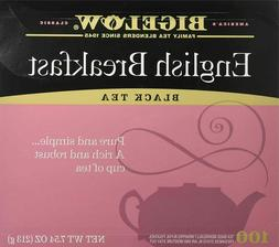 Bigelow English Breakfast Black Tea, 100 count box