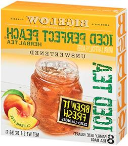 Bigelow® Iced Perfect Peach® Herbal Tea Bags 8 c