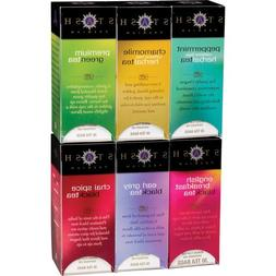 Stash Black Tea Assorted 6-pack Flavors 30 Tea Bags Each Cha