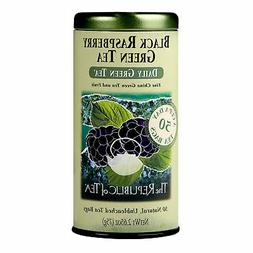 The Republic Of Tea Black Raspberry Green Tea, 50 Tea Bags,