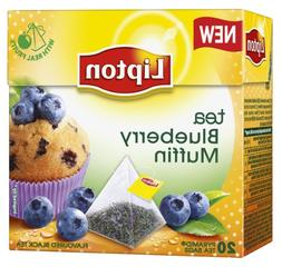 Lipton Black Tea - Blueberry Muffin - Premium Pyramid Tea Ba
