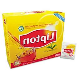 Lipton Black Tea Bags 100% Natural Tea 100 ct