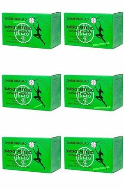 Cali Girl Brand Dieters' Drink - 6 Boxes 72 Tea Bags  New S
