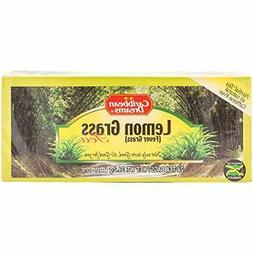 Caribbean Dreams Lemon Grass Tea, Fever 24 Tea Bags, 100% Na