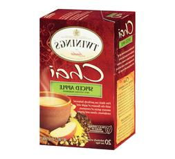 TWININGS CHAI SPICED APPLE 20 Tea Bags
