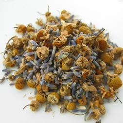CHAMOMILE LAVENDER HERBAL LOOSE * 4 OZ. * ORGANIC RELAXING S
