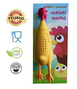 Everyday Delights Chicken Rooster Hen Silicone Infuser for H