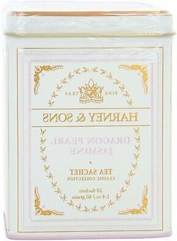 Harney and Sons Classic Tea Sachet in Tin, Dragon Pearl Jasm