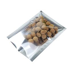 Clear Front Aluminum Foil Pouch Heat Sealable Candy Spice Fo