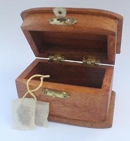 Colonial Tea Caddy Set wReal Teabags for American Girl Doll