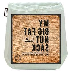 My Big Fat Nut  Sack.  Commercial Quality Reusable Almond Nu