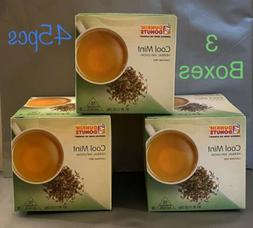 Dunkin Donuts Cool Mint Herbal Infusion Tea With 45 tea bags