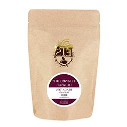 English Tea Store Cranberry Orange Flavored Black Teabags, 2