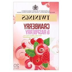 Twinings Cranberry & Raspberry Tea - 20s - Pack of 4