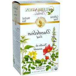 Celebration Herbals Dandelion Leaf Organic Tea - 24 Tea Bags