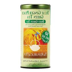 The Republic of Tea Decaf Ginger Peach Green Tea, Spicy Ging
