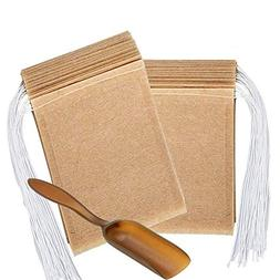 Disposable Filter Bag for Loose Leaf Tea and Coffee with Spo