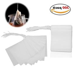 Adecco LLC Disposable Tea Filter Bags - 300 Count