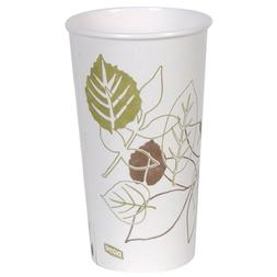 Dixie 2350PATH Pathways Paper Hot Cup, 20 oz Capacity