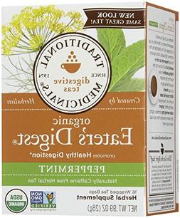 Traditional Medicinals Eater'S Digest Herbal Wrapped Tea Bag