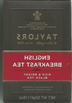 Taylors of Harrogate - English Breadfast  Tea - 20 Tea Bags