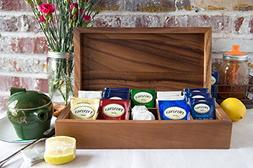 Father's Day Gifts Wooden Decorative Tea Bag Storage Chest B