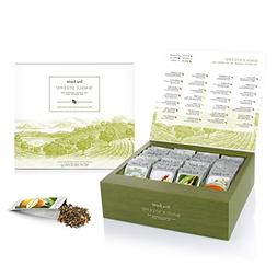 Tea Forté SINGLE STEEPS Loose Tea Sampler, Assorted Variety
