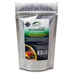 Ginger Tea 100% Pure Root  All-Natural Caffeine Free Herbal