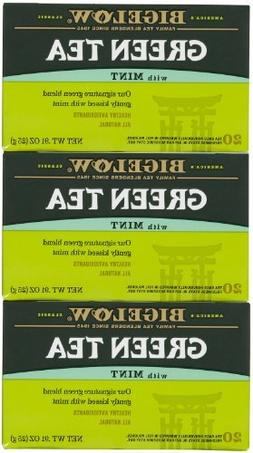 Bigelow Green Tea w/ Mint Tea Bags - 20 ct - 3 pk