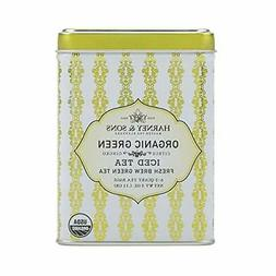 Harney & Sons Green Iced Tea, Organic Citrus Ginko, 6 Tea Ba