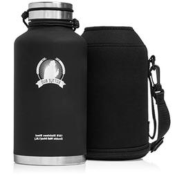 a51d8f49e4 Growler By Bottle Bud - Stainless Steel Growler Water Bottle