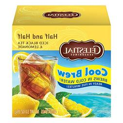 Celestial Seasonings Half and Half Cool Brew Iced Tea & Lemo